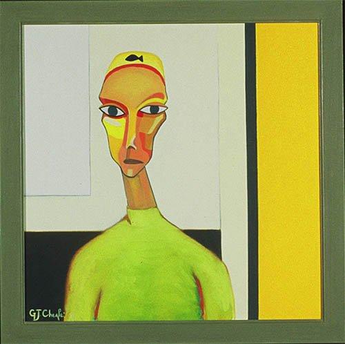 3 Women in a Gallery
